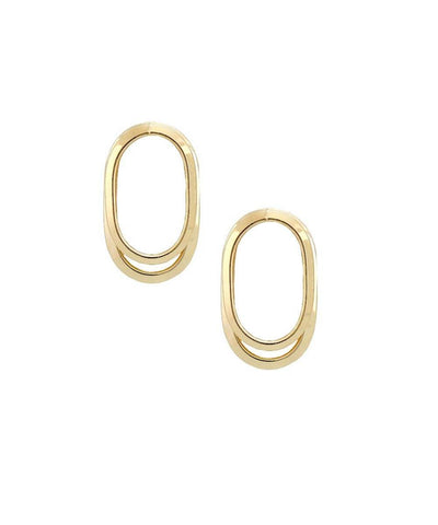Earrings WAY S golden designer Earrings