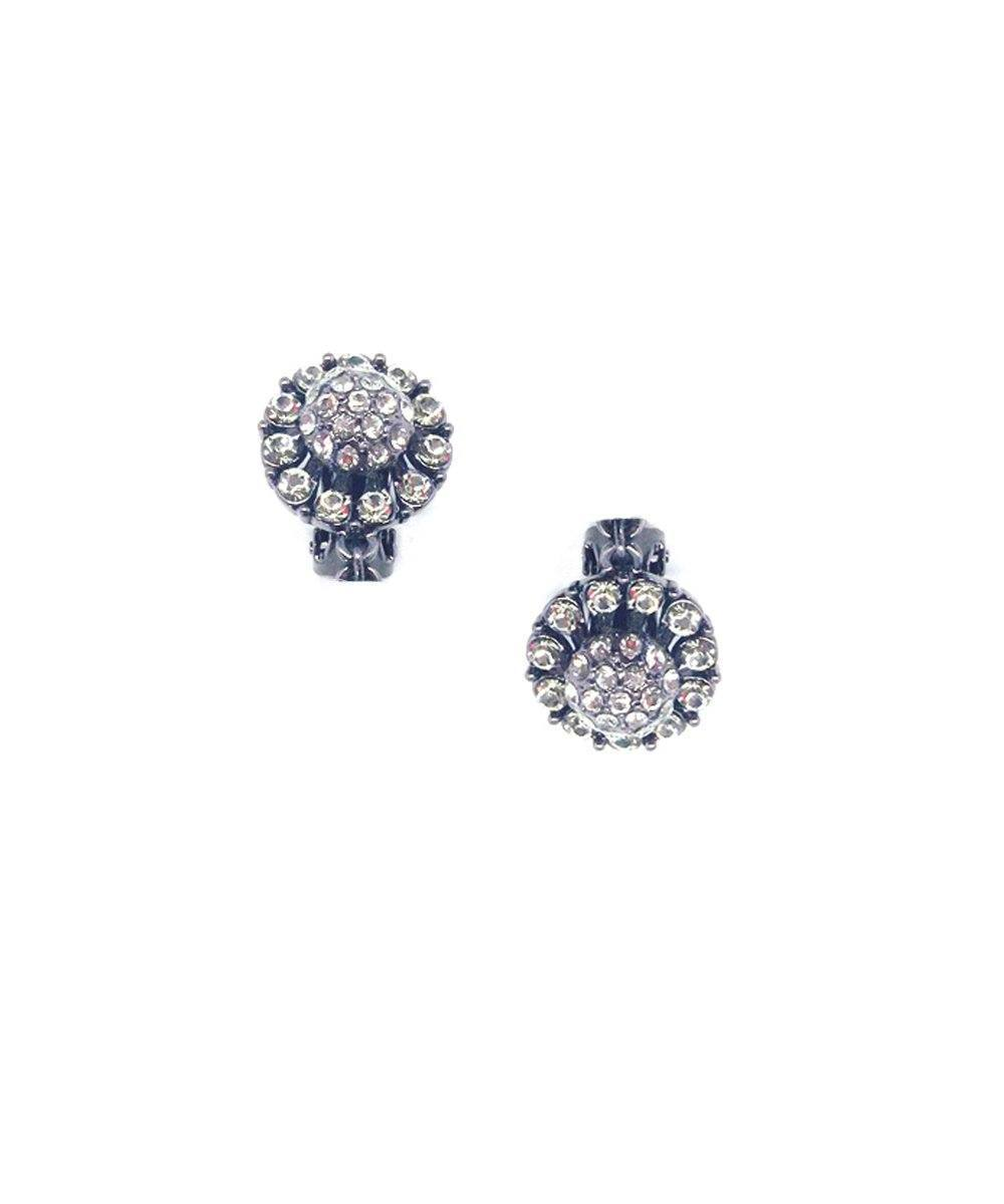 earrings clip rhinestone Editions LESSisRARE Jewels