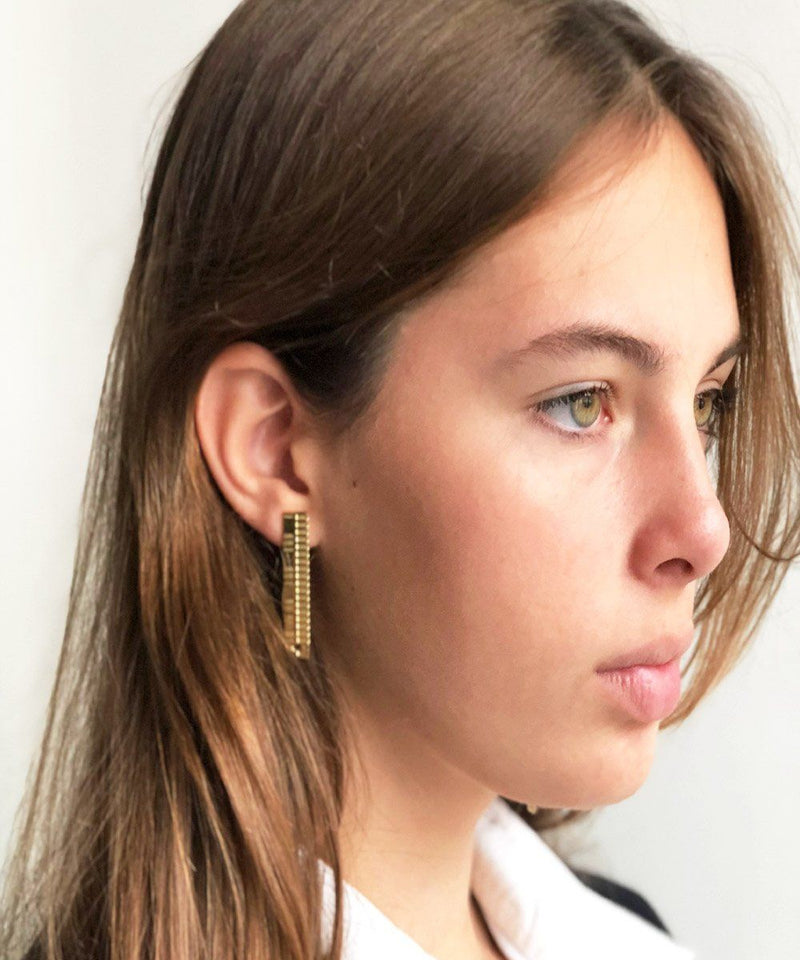 Designer golden Gearing S earrings Earrings