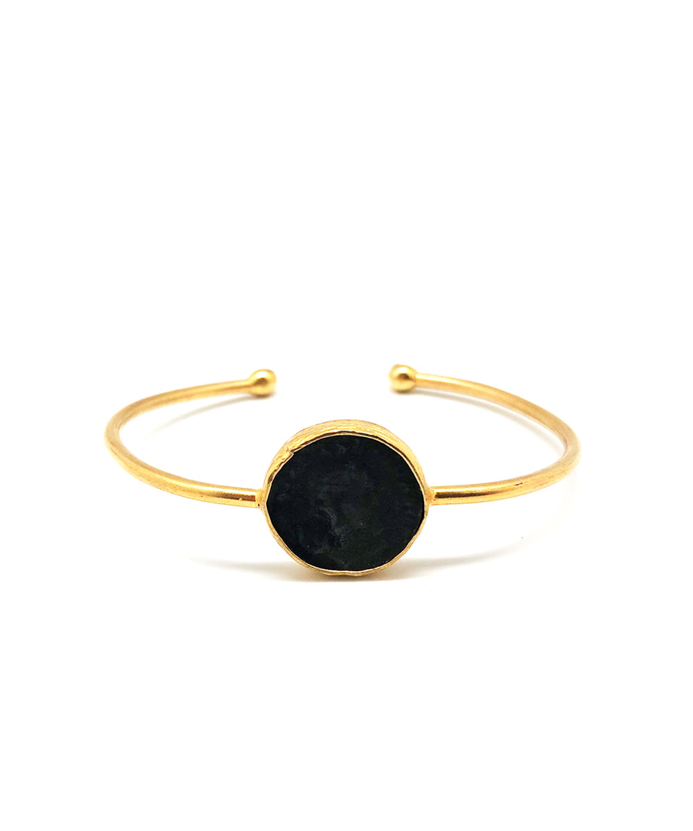 Black Alya bangle bracelet