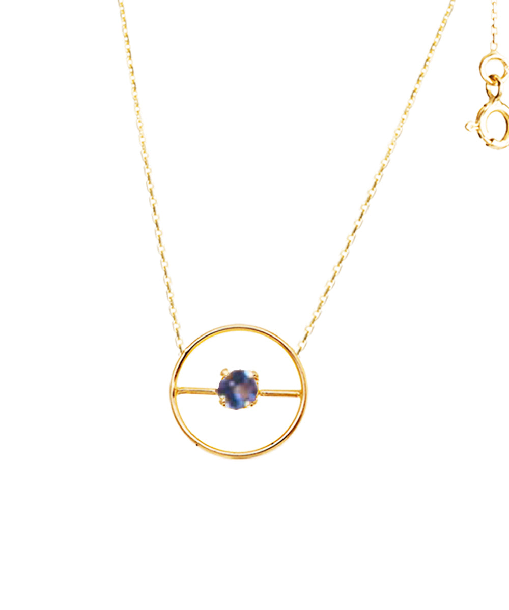 Collier One Stone Tanzanite - Paola zovar