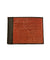 orange shagreen card holder