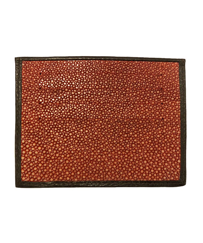 card holder shagreen orange back galuchat gallery