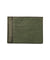Green shagreen card holder - Large size - Galerie Galuchat