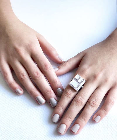 big-ring-mother-of-pearl-art deco-silver