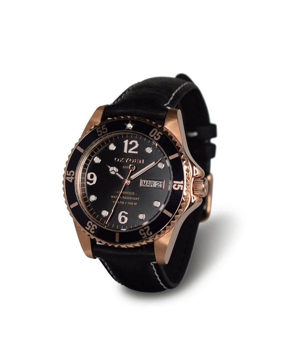 Montre Exchange Diver Gold Mine 36 - oxygen watch