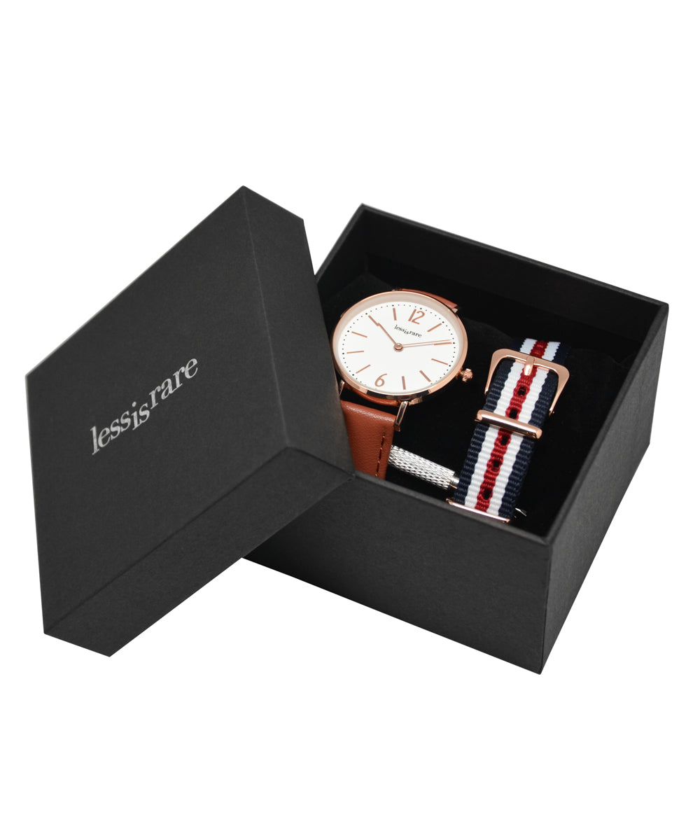 Duo Watch LESSisRARE Ines Box de la fressange