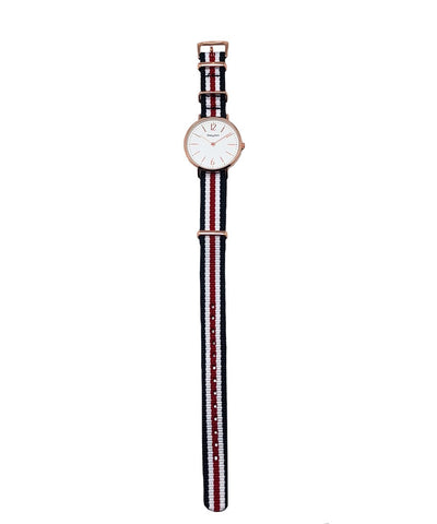 LESSisRARE Frenchic tricolor Ines box watch