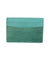 Turquoise shagreen card holder - Galerie Galuchat