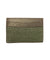 Green shagreen card holder - Galerie Galuchat