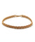 choker gold plated twist Editions LESSisRARE Jewelry