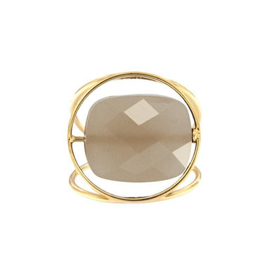 paola zovar ring chocolate moonstone chocolate