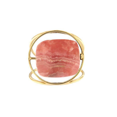paola zovar bague or pierre rhodochrosite
