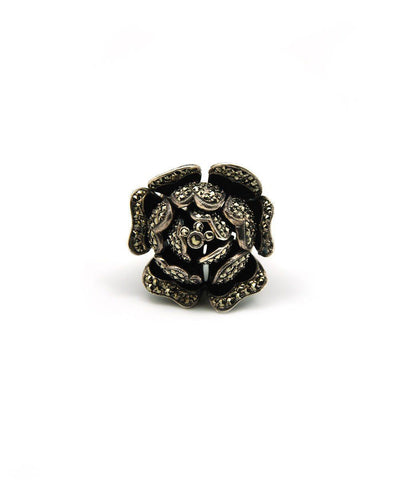 big-ring-flower-art deco-silver-and-marcasites-face-creator