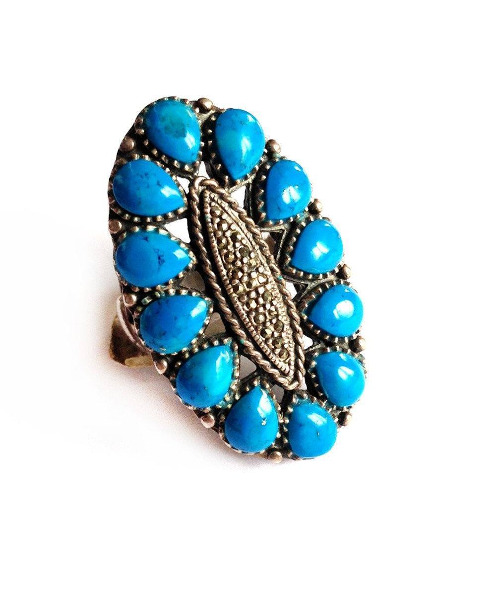 big-ring-oval-turquoises-marcasite-silver-art deco-creator