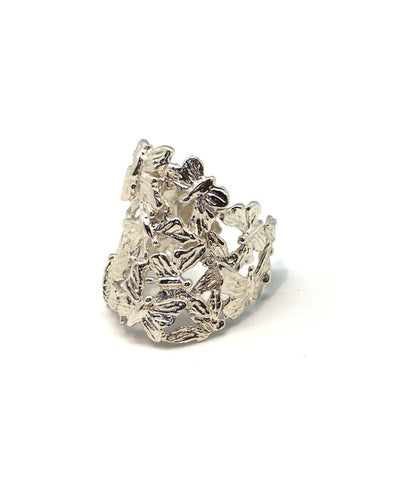 Butterfly flat silver ring creator