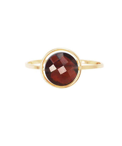Garnet ring of paola zovar My little gold