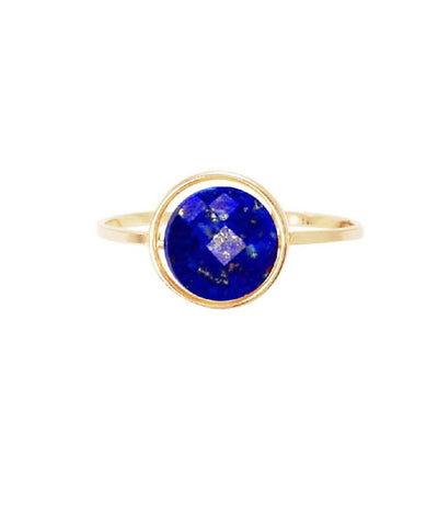 Lapis Lazuli ring by paola zovar My little gold