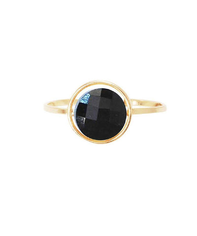 My little gold onyx ring by Paola Zovar