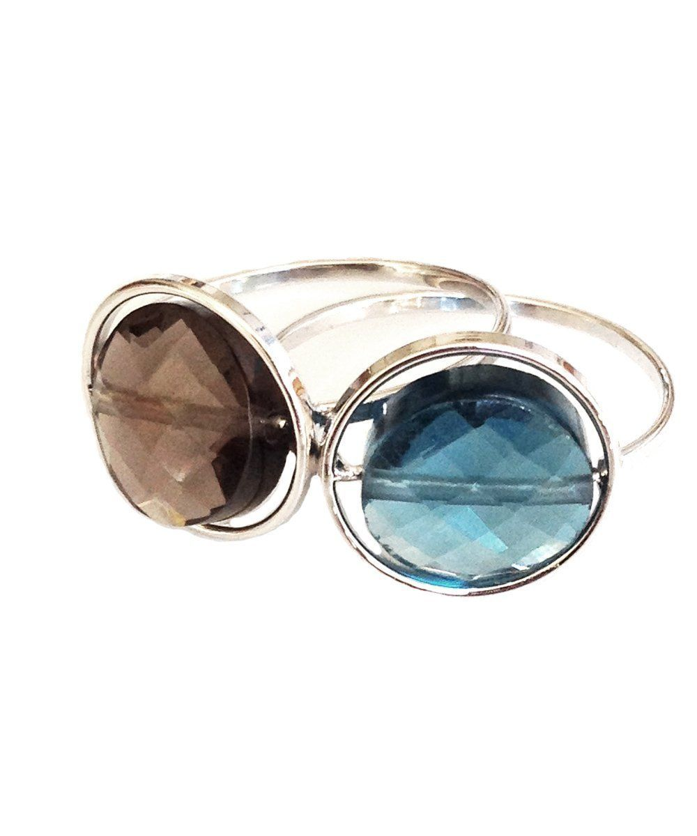 duo-ring-paola-zovar-small-look-topaz blue-quartz-smoked