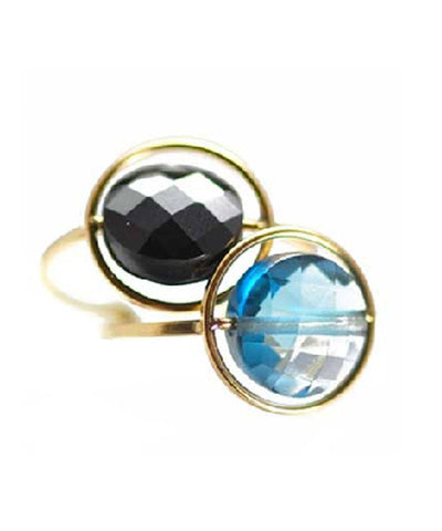 duo-ring-paola-zovar-breakfast look onyx-blue-topaz