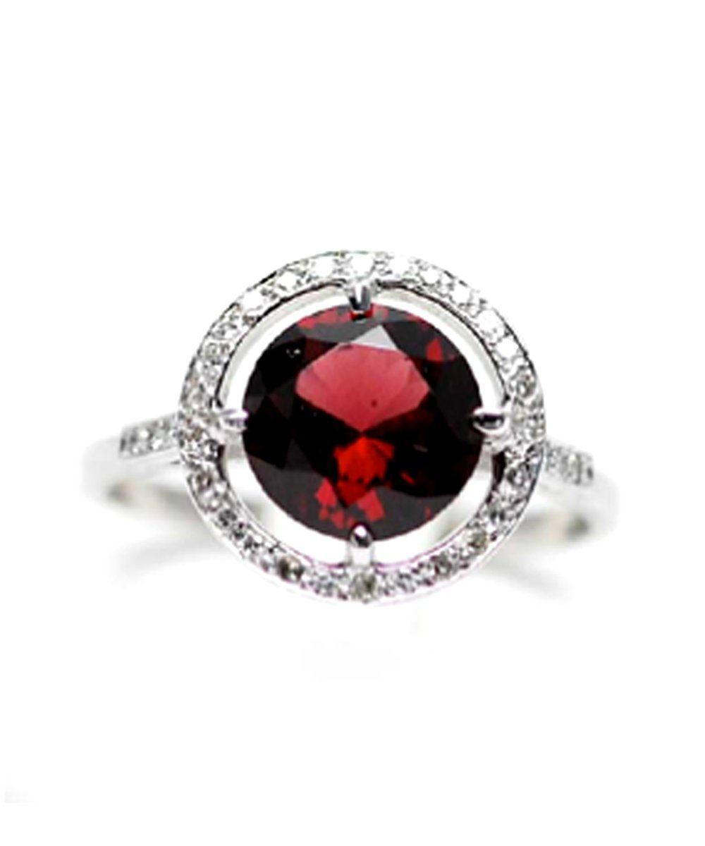 Rubellite joe ring, diamonds and white gold paola zovar