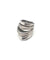 metron Grande silver graphic ring