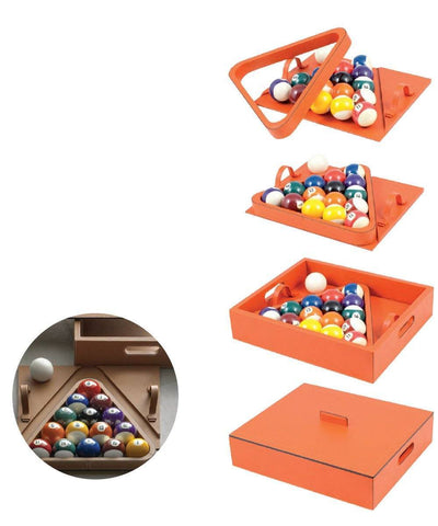 1 Bhome Creator Leather Billiard Box