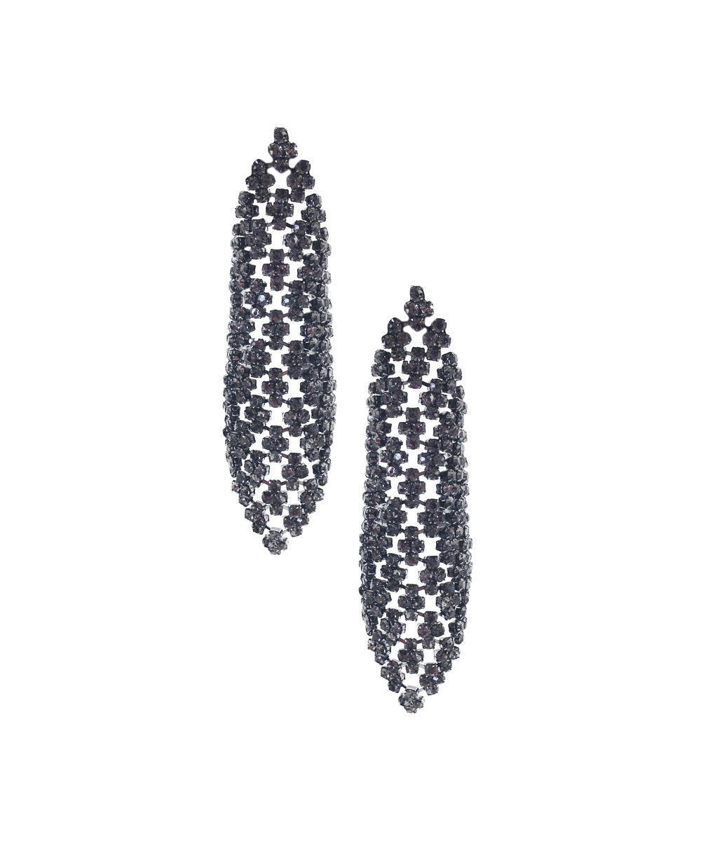 Diamond earrings - Editions LESSisRARE Bijoux