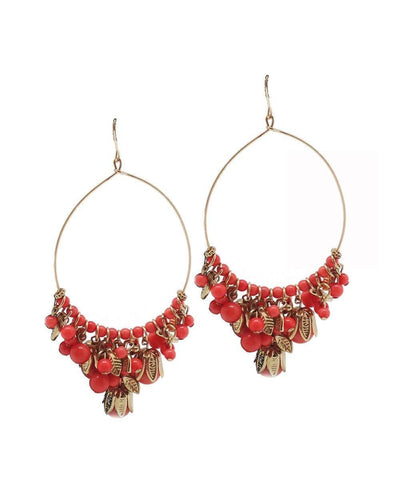 Andalusian creole earrings oranges designer Editions LESSisRARE Bijoux