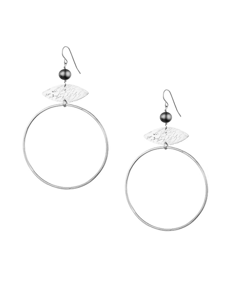 "Eloise Fiorentino Silver earrings - ""Gold and pallor"" creator"