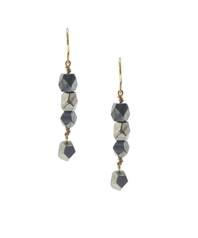 Pyrites eloïse fiorentino short earrings