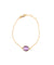 Amethyst bracelet - Editions LESSisRARE Bijoux