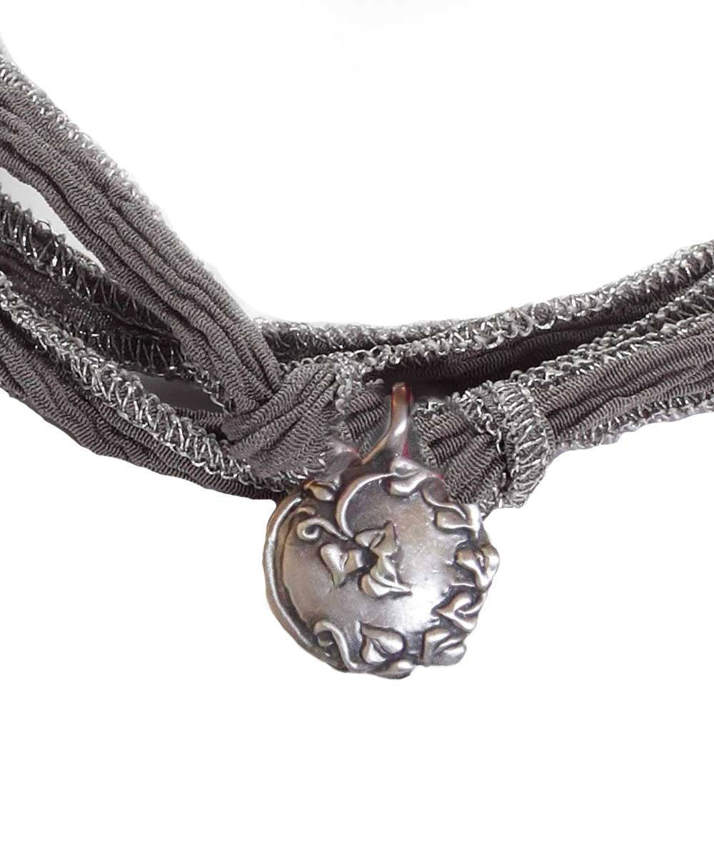Catherine Michiels Bracelet Charm Always in silver creator