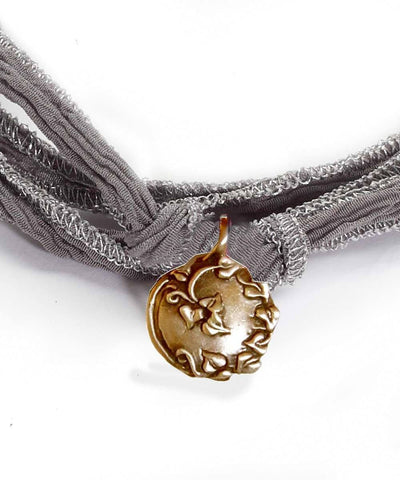 Catherine Michiels Bracelet Charm Always en bronze créateur