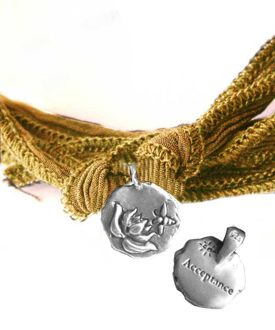Catherine Michiels Charm bracelet Acceptance in silver creator
