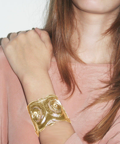 carole-saint-germes-bracelet-cuff-twisted-worn