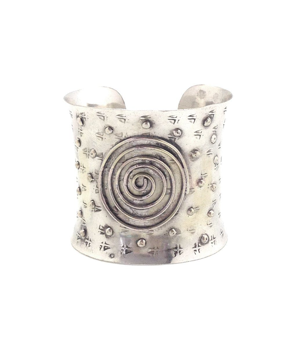 bracelet-silver-spiral-ring Editions LESSisRARE Jewels