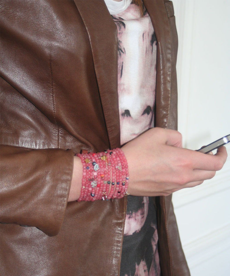 lara-Curcio-jewelry-cuff-lucky13-rhodonite