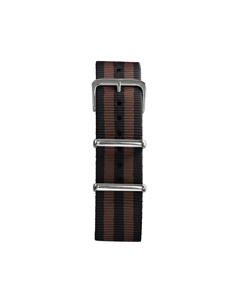 Replaceable striped nato bracelet 20mm - oxygen watch