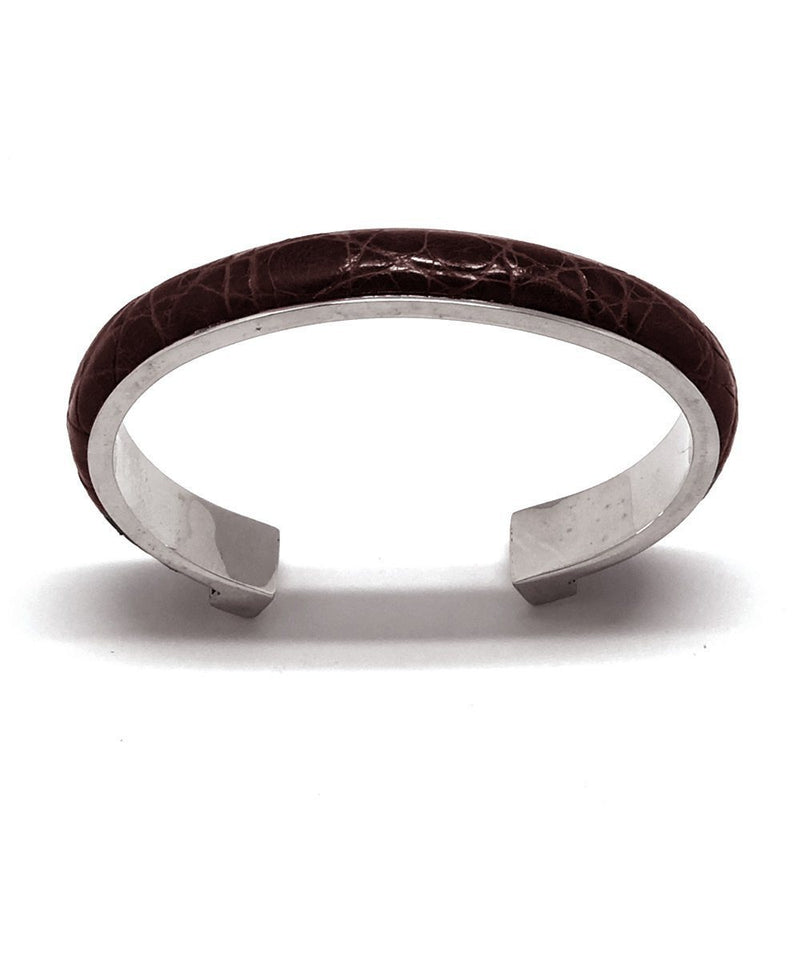 bracelet-crocodile-marron bhome