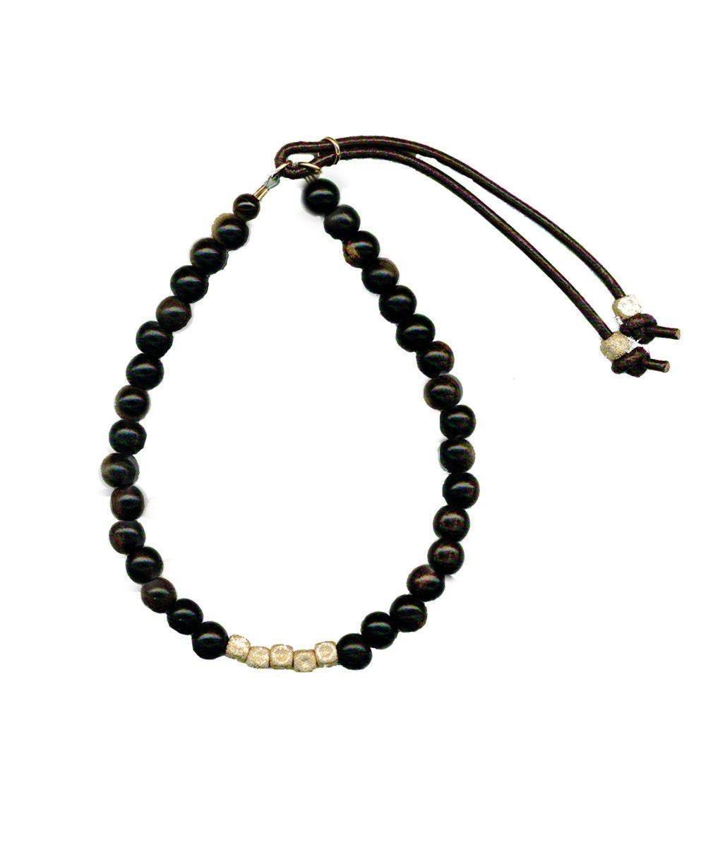 bracelet pearl-ebony-cubic-or-michiels.jpg