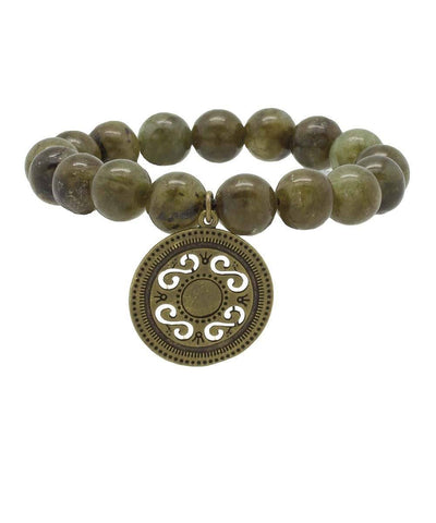 editions-lessisrare-jewelry-bracelet-lhassa-in-jade-pendant-medal Editions LESSisRARE Jewels
