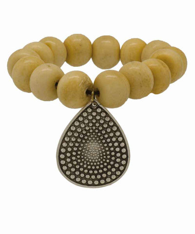 editions-lessisrare-jewelry-bracelet-lhassa-in-horn-pendant-drop Editions LESSisRARE Jewels