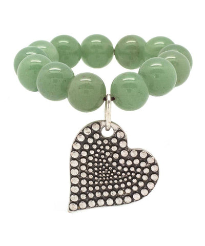 editions-lessisrare-jewelry-bracelet-lhassa-in-jade-light-heart-pendant Editions LESSisRARE Jewels