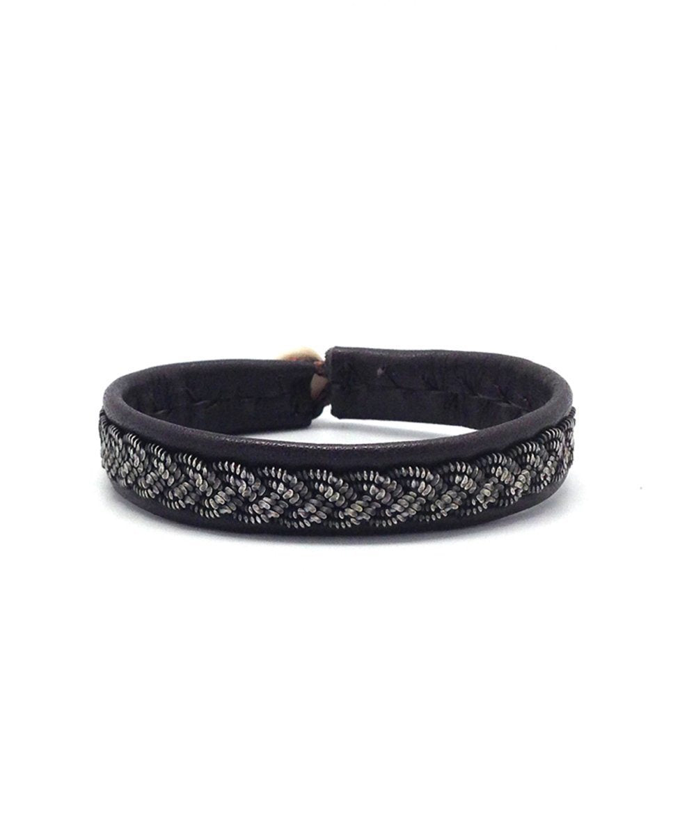 Ebony B66 Dust Bracelet by Hanna Wallmark