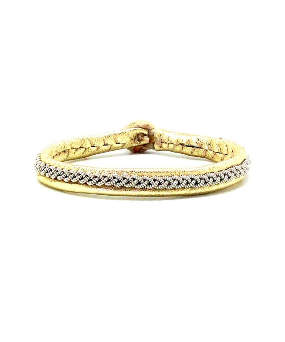 Mossa One Gold Bracelet Hanna Wallmark