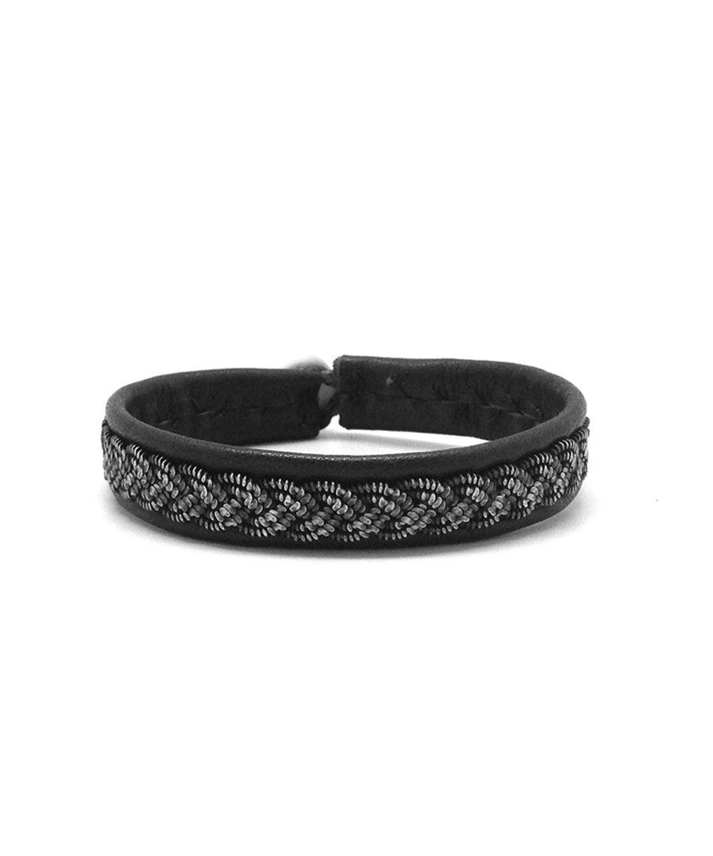 Black B66 Dust Bracelet by Hanna Wallmark