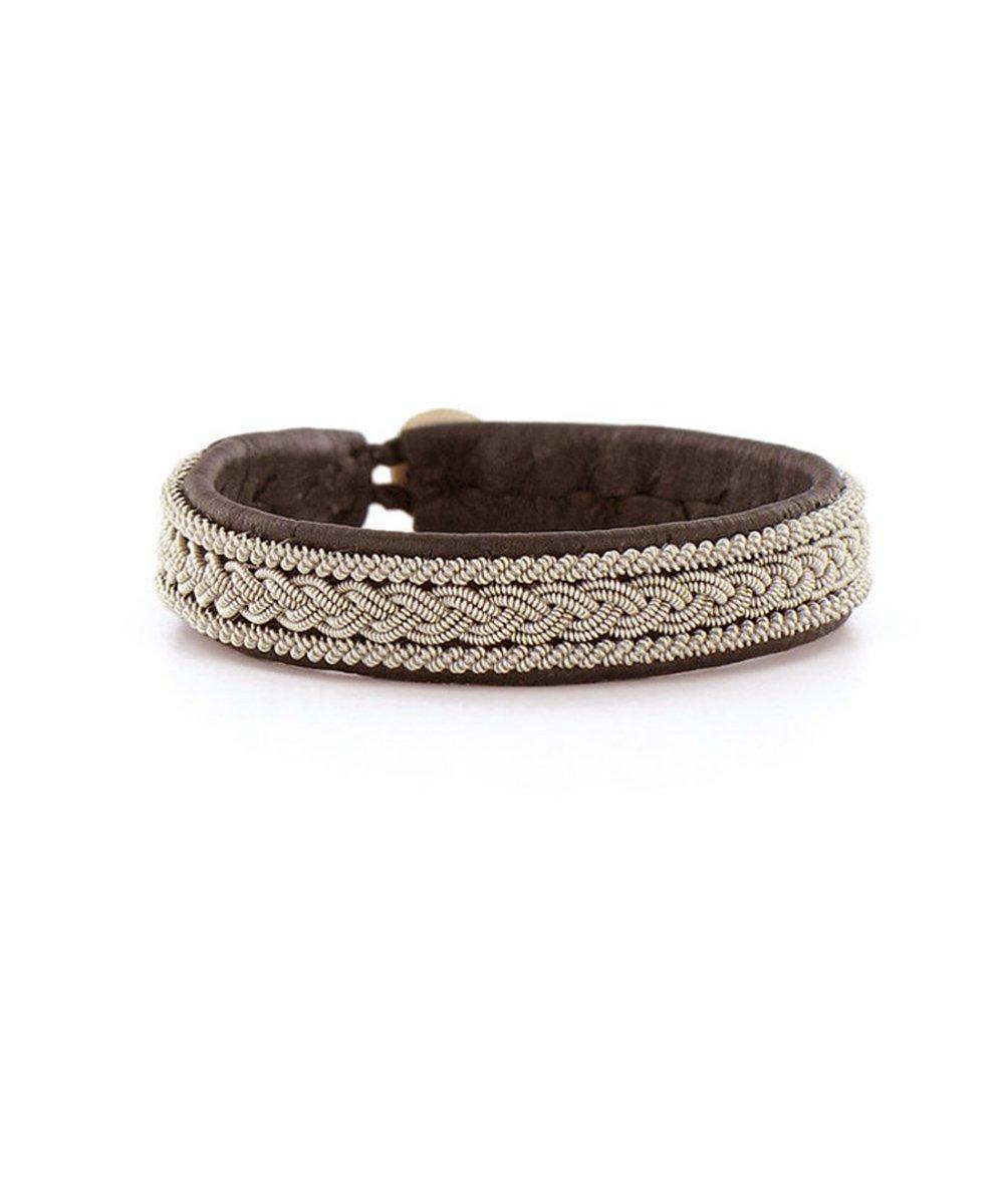 Light choco bracelet - Hanna Wallmark