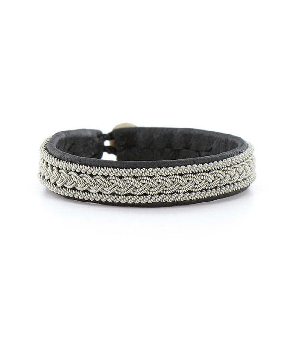 Light Gray Anthracite Bracelet Hanna Wallmark